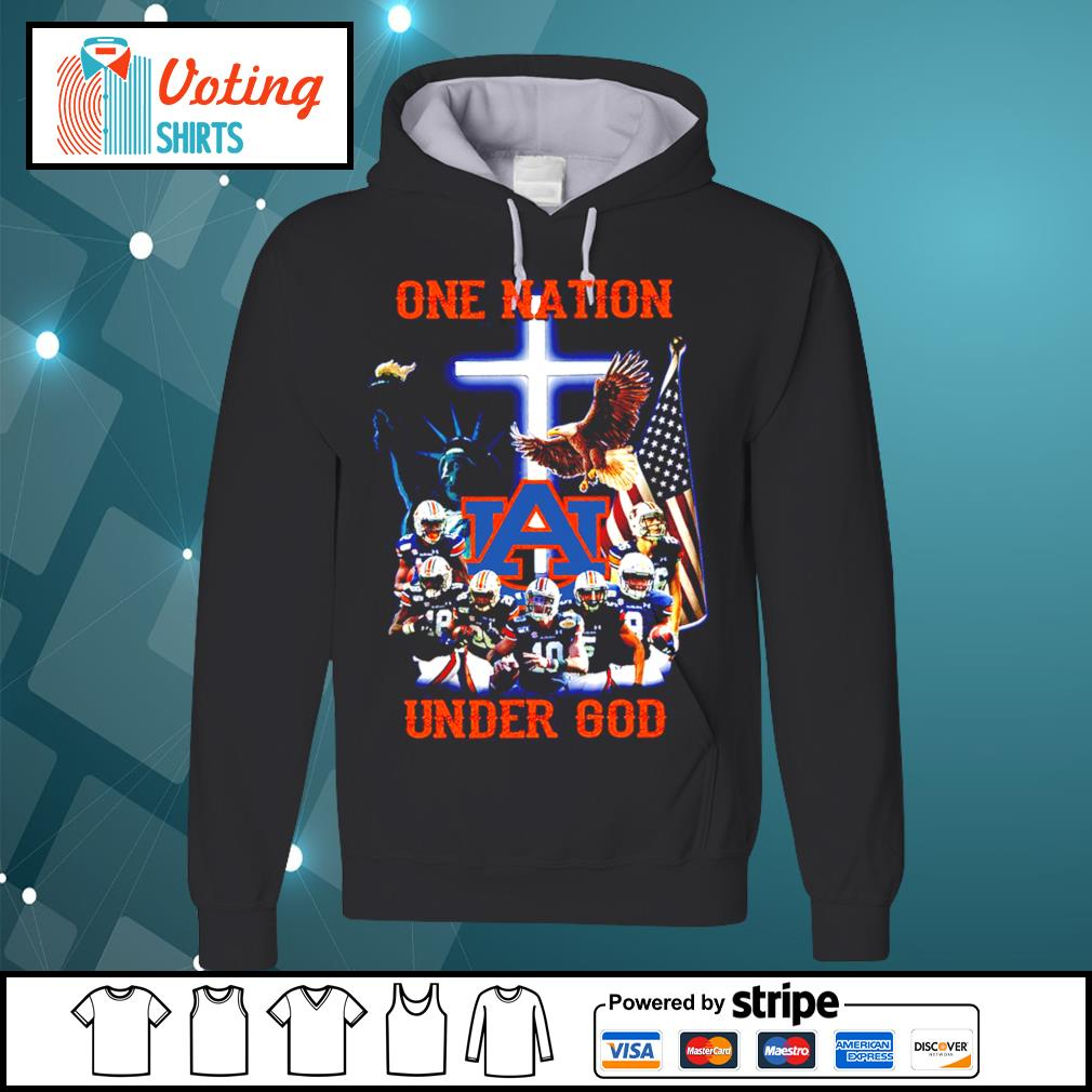 Auburn Tigers one nation under god s hoodie