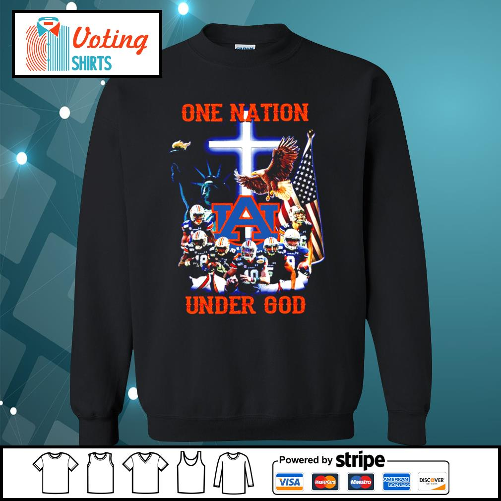 Auburn Tigers one nation under god s sweater