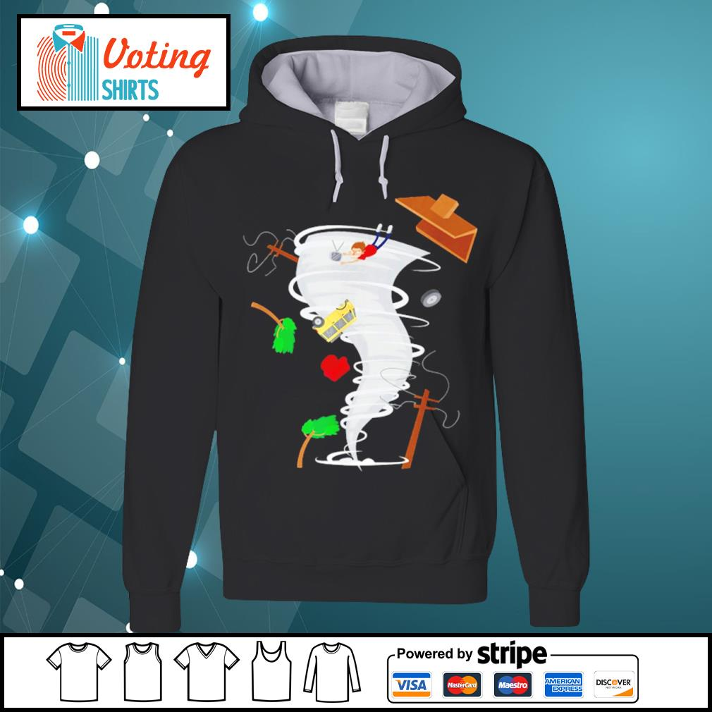 Awesome tornado storm chaser s hoodie