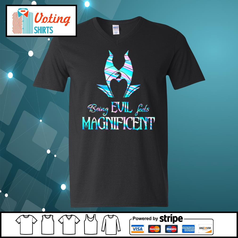Being avil feels Magnificent s v-neck-t-shirt