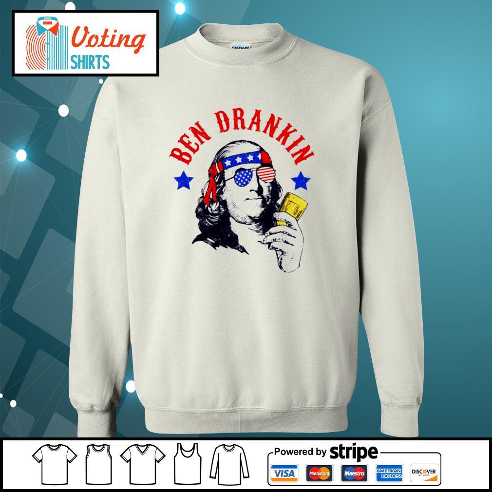 Ben drankin America s sweater