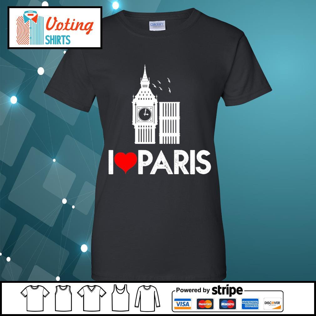 Big Ben I love Paris s ladies-tee