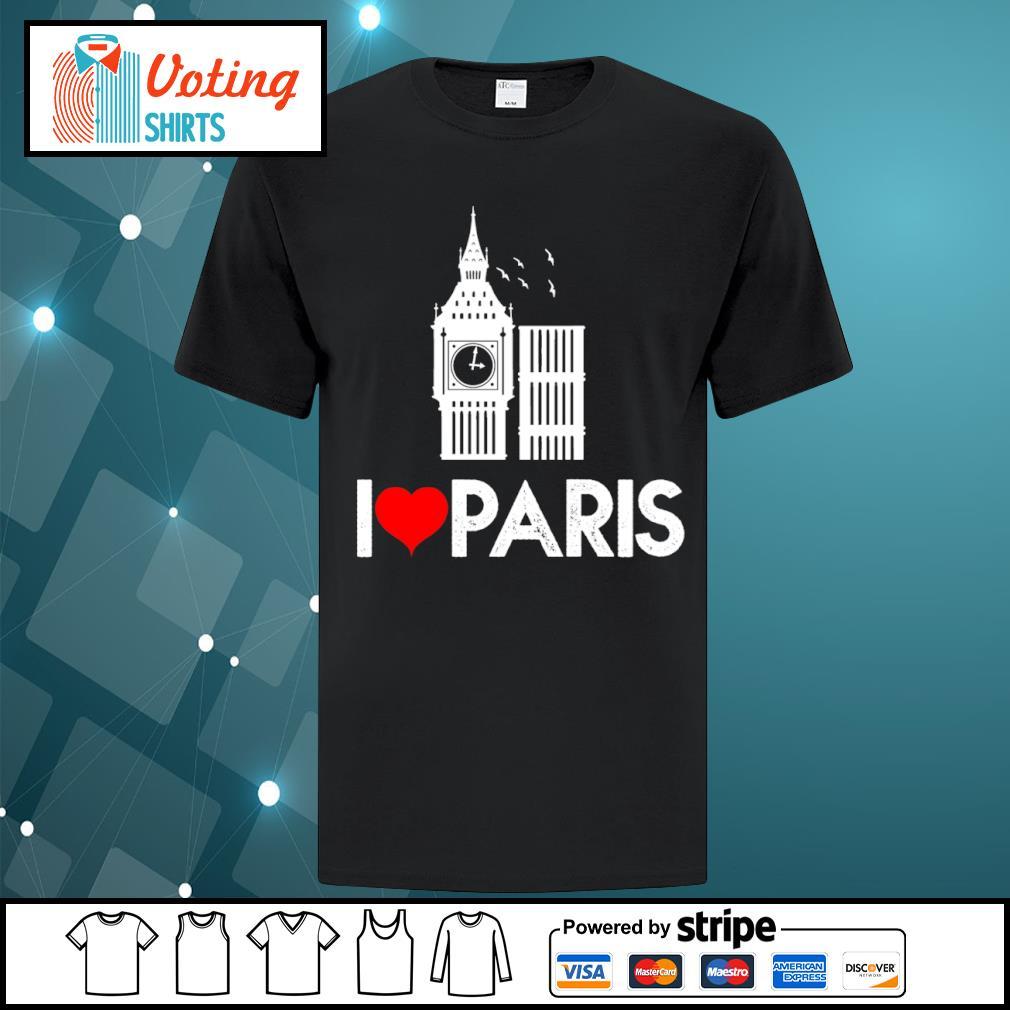Big Ben I love Paris shirt