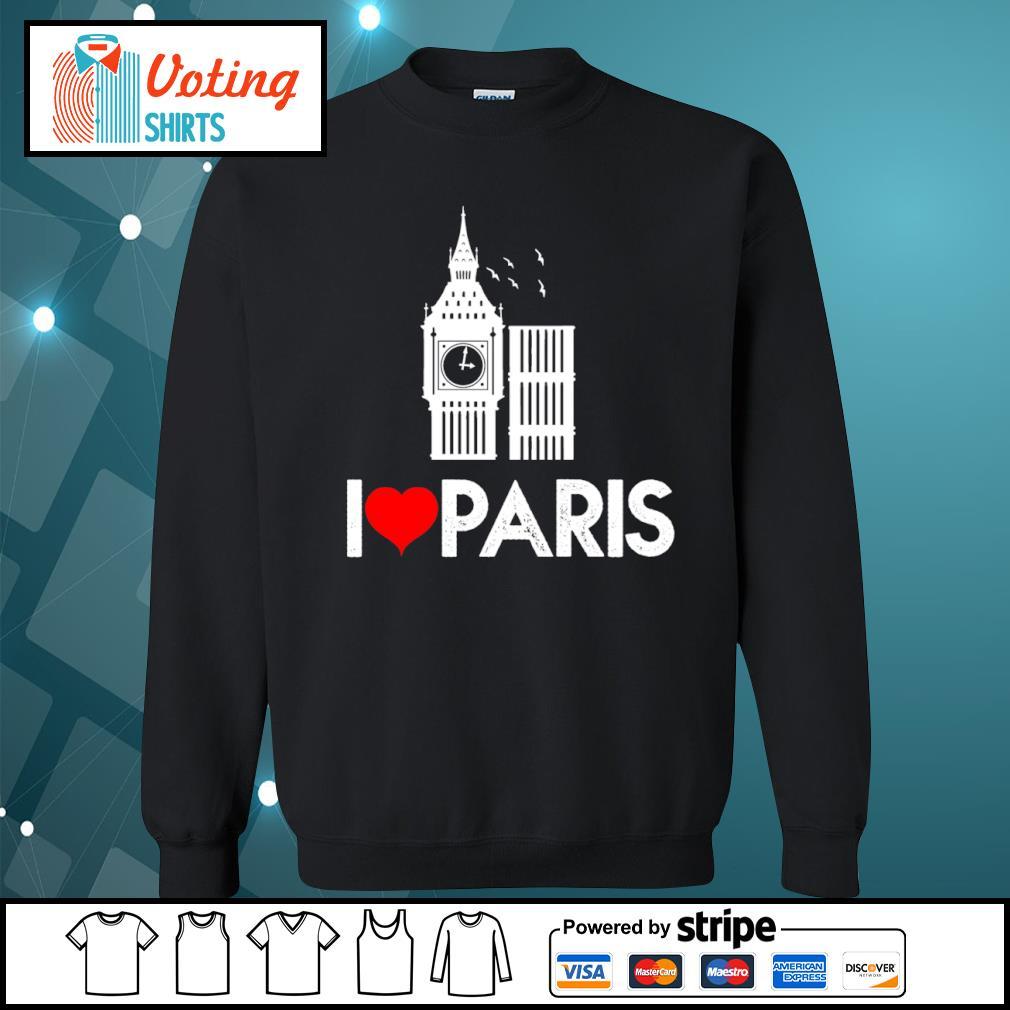 Big Ben I love Paris s sweater