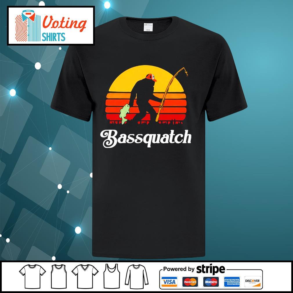 Bigfoot Bassquatch vintage shirt