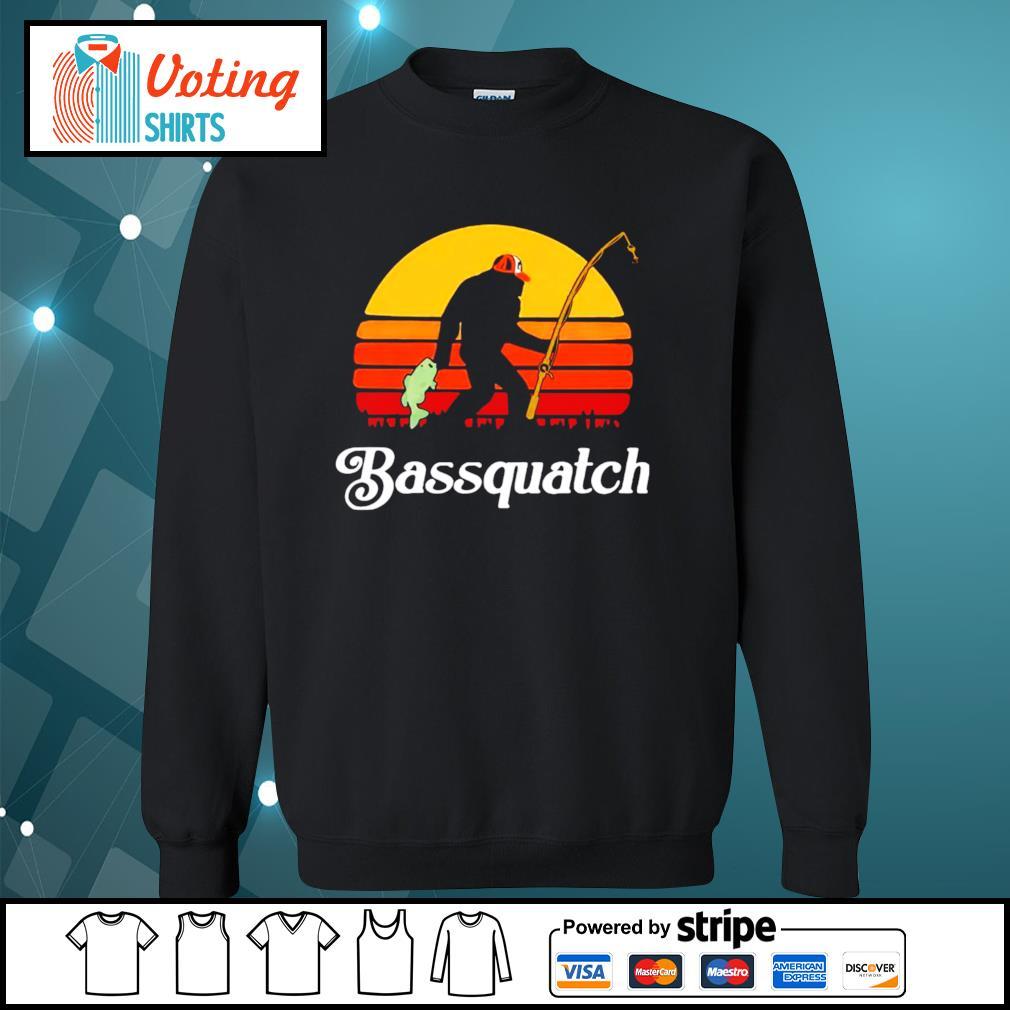 Bigfoot Bassquatch vintage s sweater