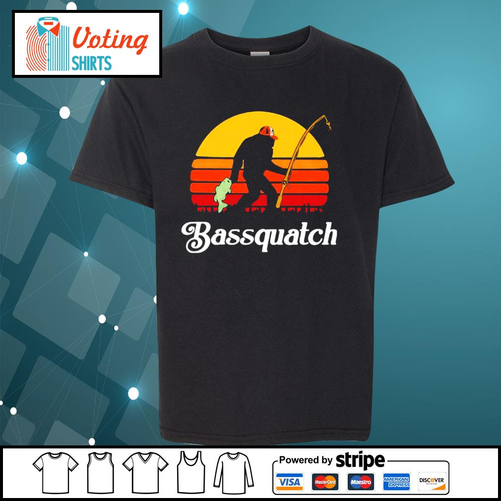Bigfoot Bassquatch vintage s youth-tee