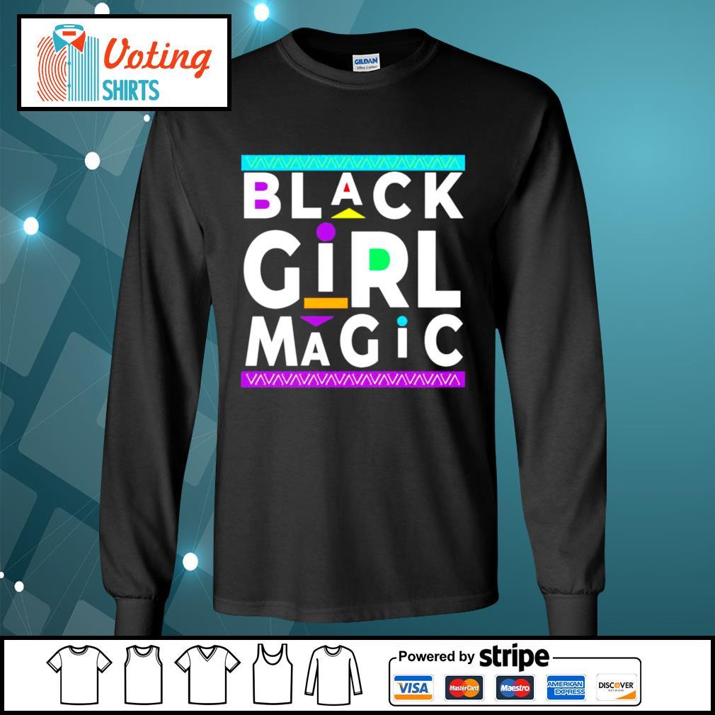 Black Girl Magic s longsleeve-tee