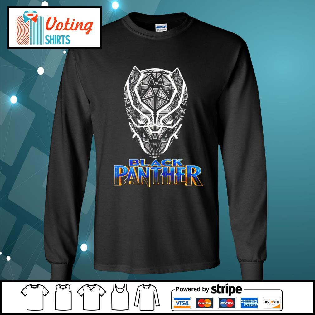 Black Panther s longsleeve-tee