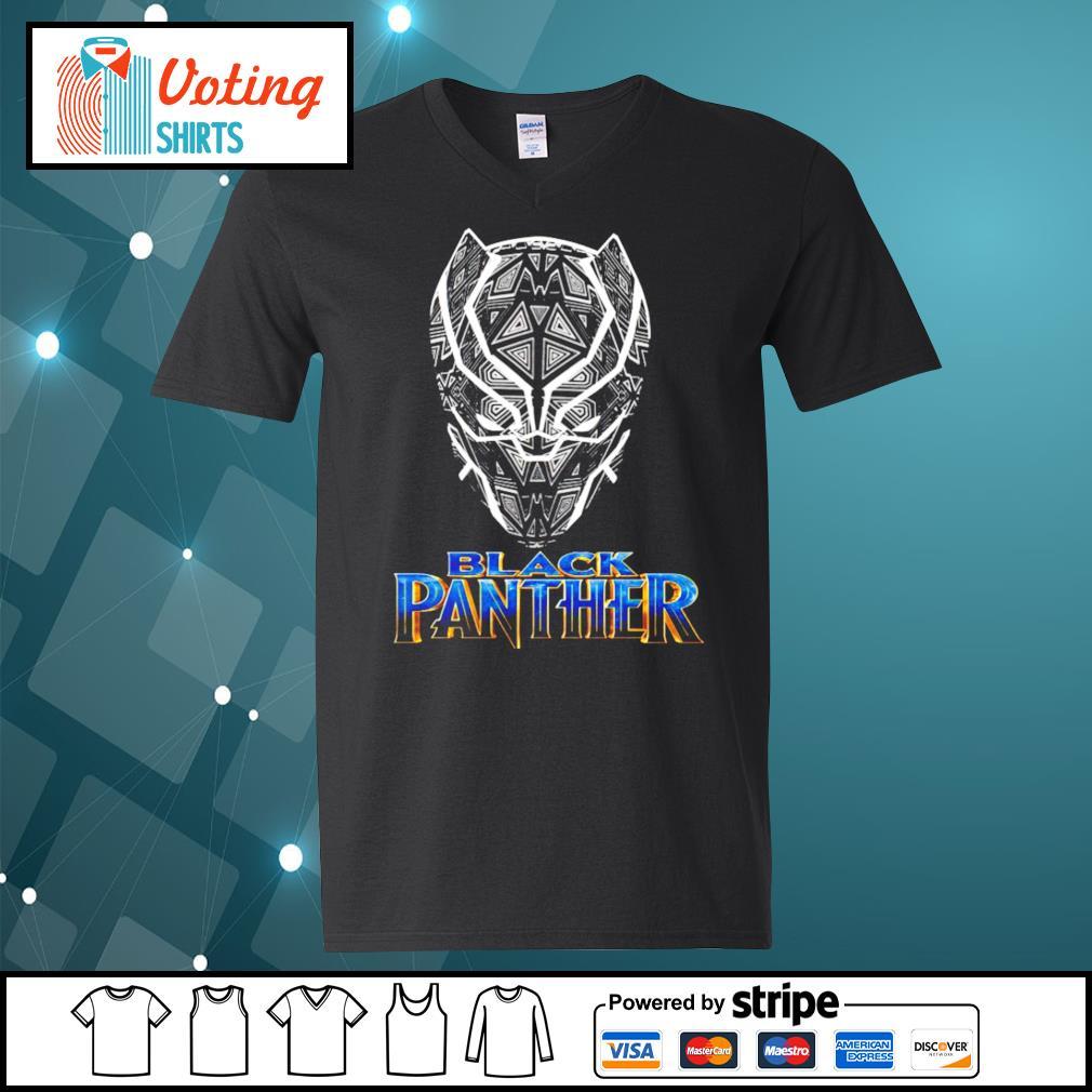 Black Panther s v-neck-t-shirt