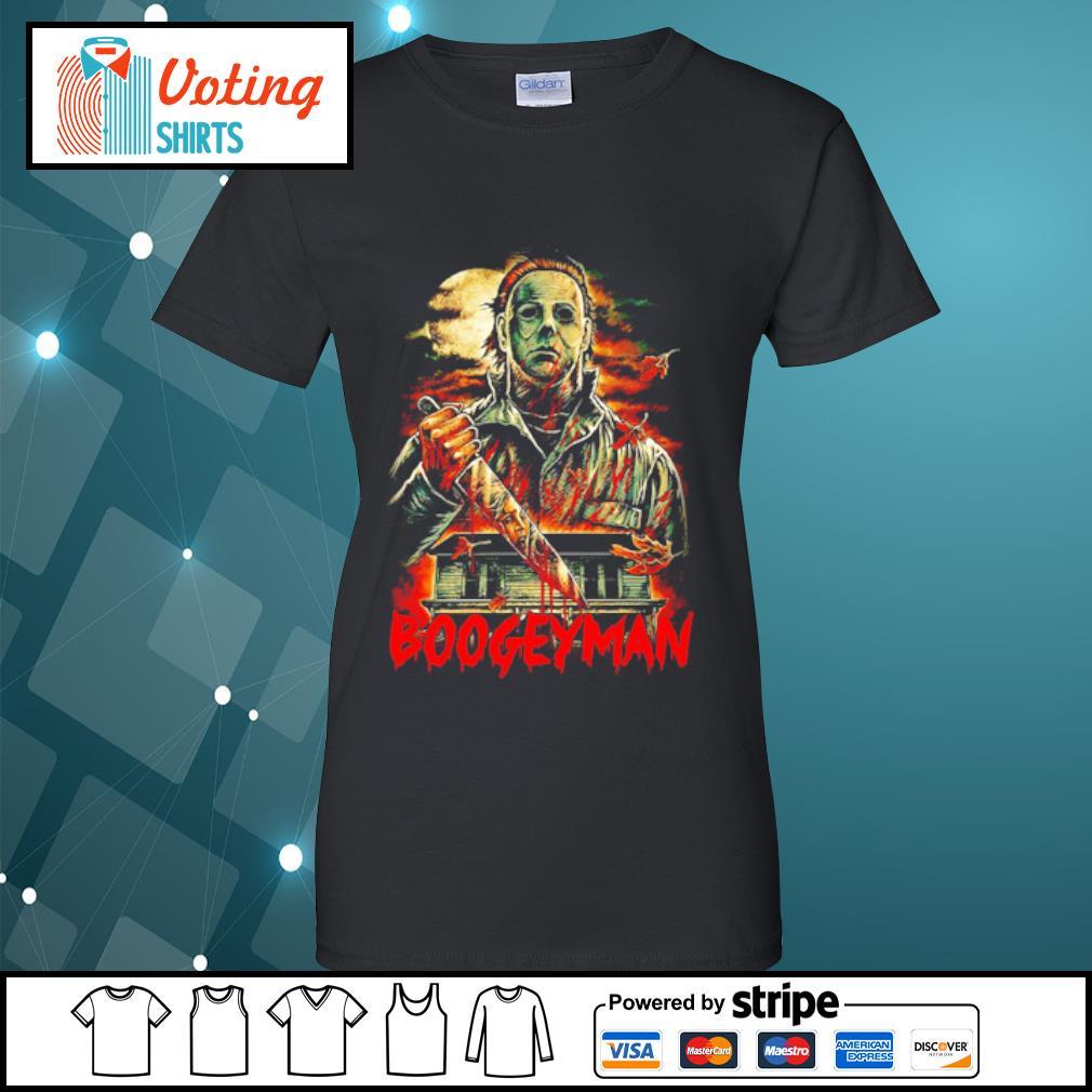 Boogeyman Michael Myers Halloween s ladies-tee