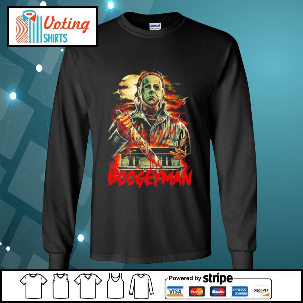 Boogeyman Michael Myers Halloween s longsleeve-tee