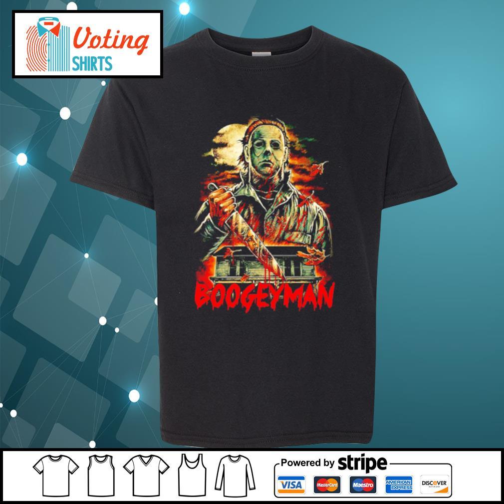 Boogeyman Michael Myers Halloween s youth-tee