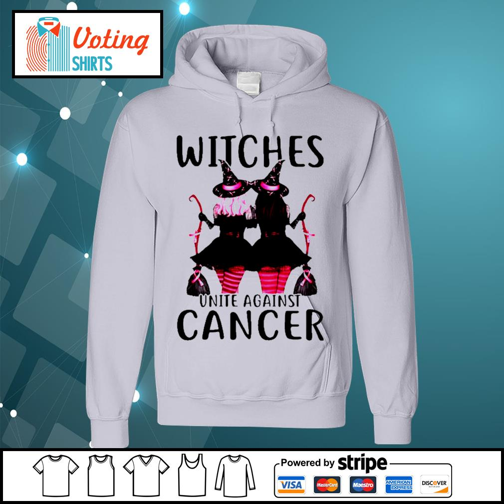 Breast Cancer Witches unite against cancer s hoodie