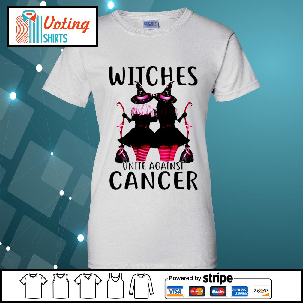 Breast Cancer Witches unite against cancer s ladies-tee