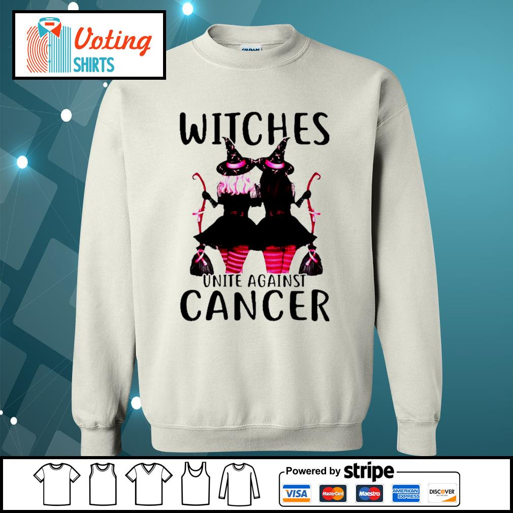Breast Cancer Witches unite against cancer s sweater
