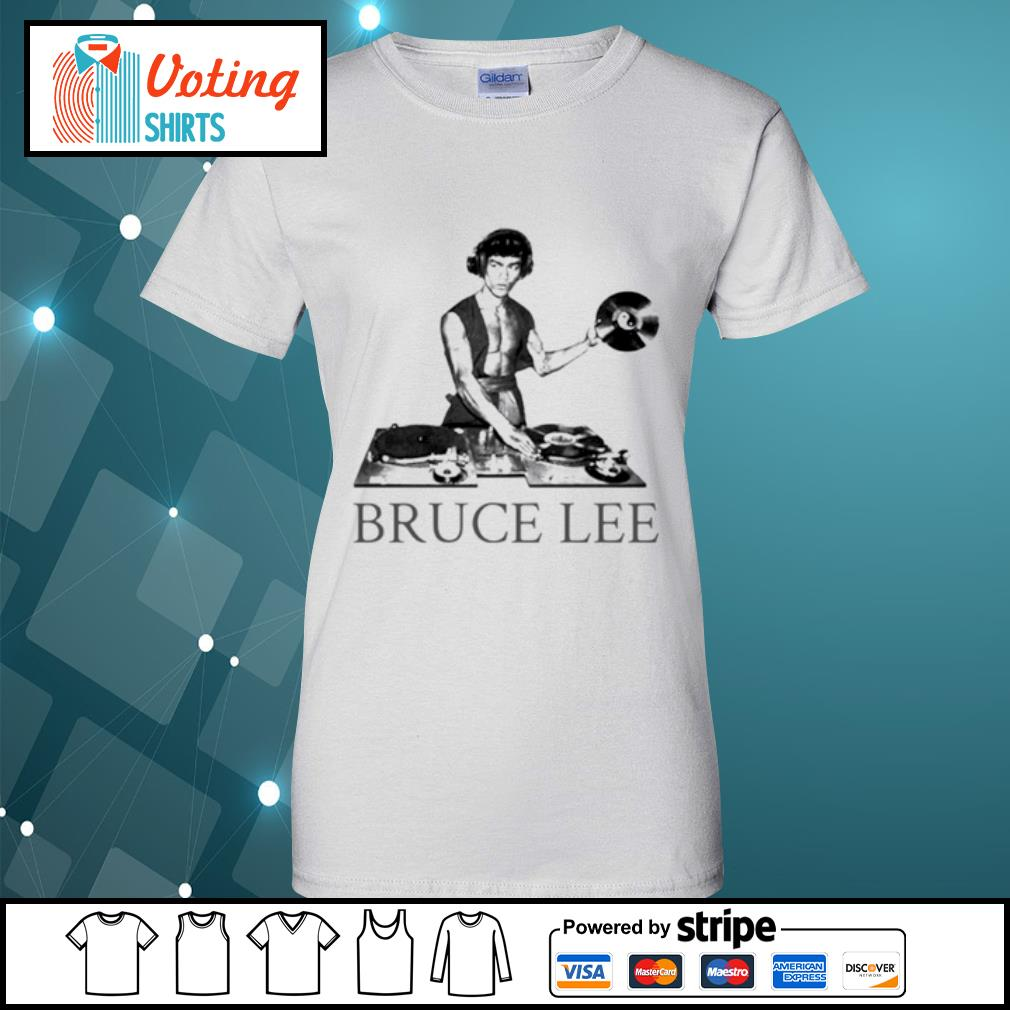 Bruce lee DJ s ladies-tee