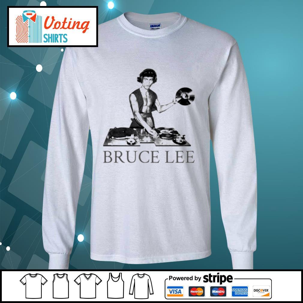 Bruce lee DJ s longsleeve-tee