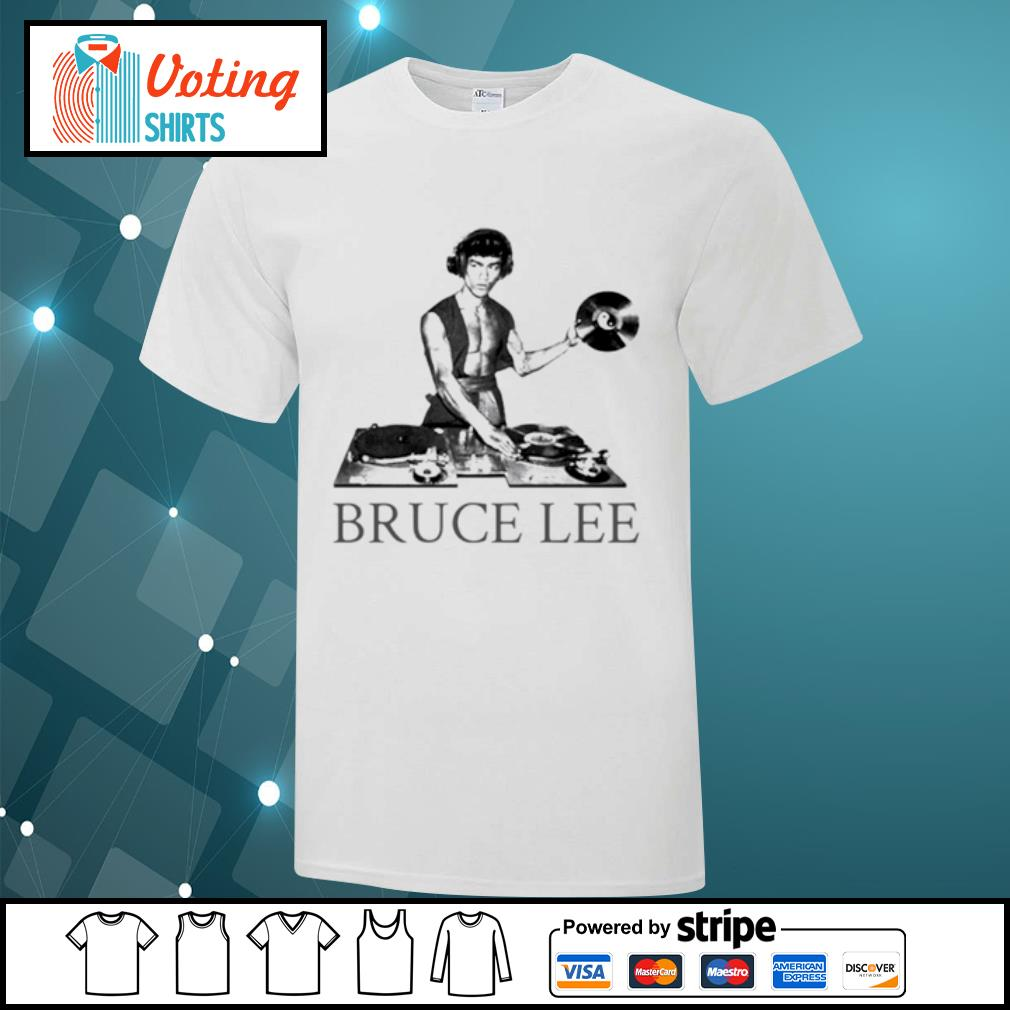 Bruce lee DJ shirt