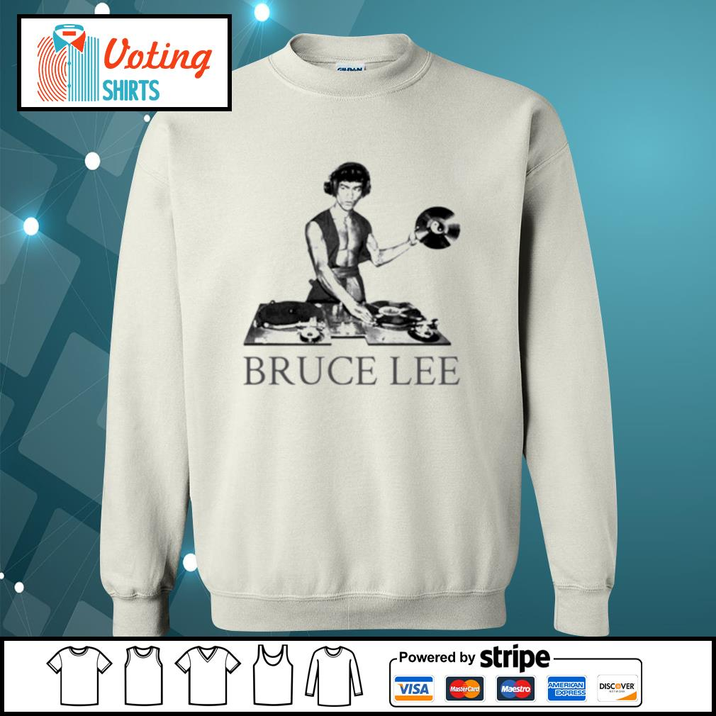 Bruce lee DJ s sweater