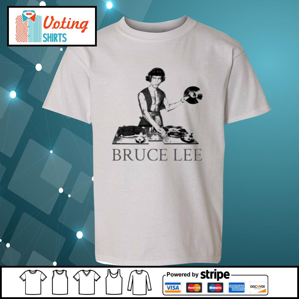 Bruce lee DJ s youth-tee