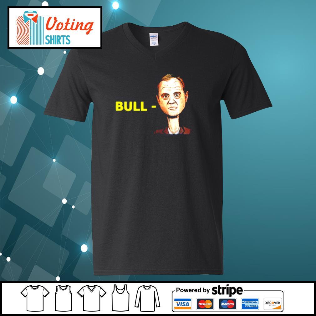 Bull-schiff s v-neck-t-shirt
