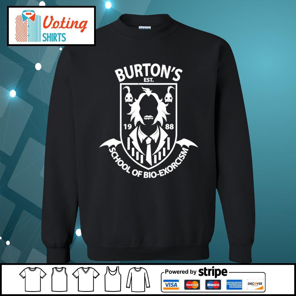 Burton's est 1988 School of Bio-exorcism s sweater