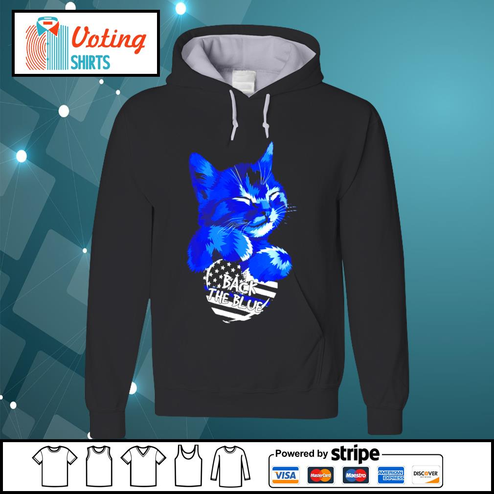 Cat Back The Blue s hoodie