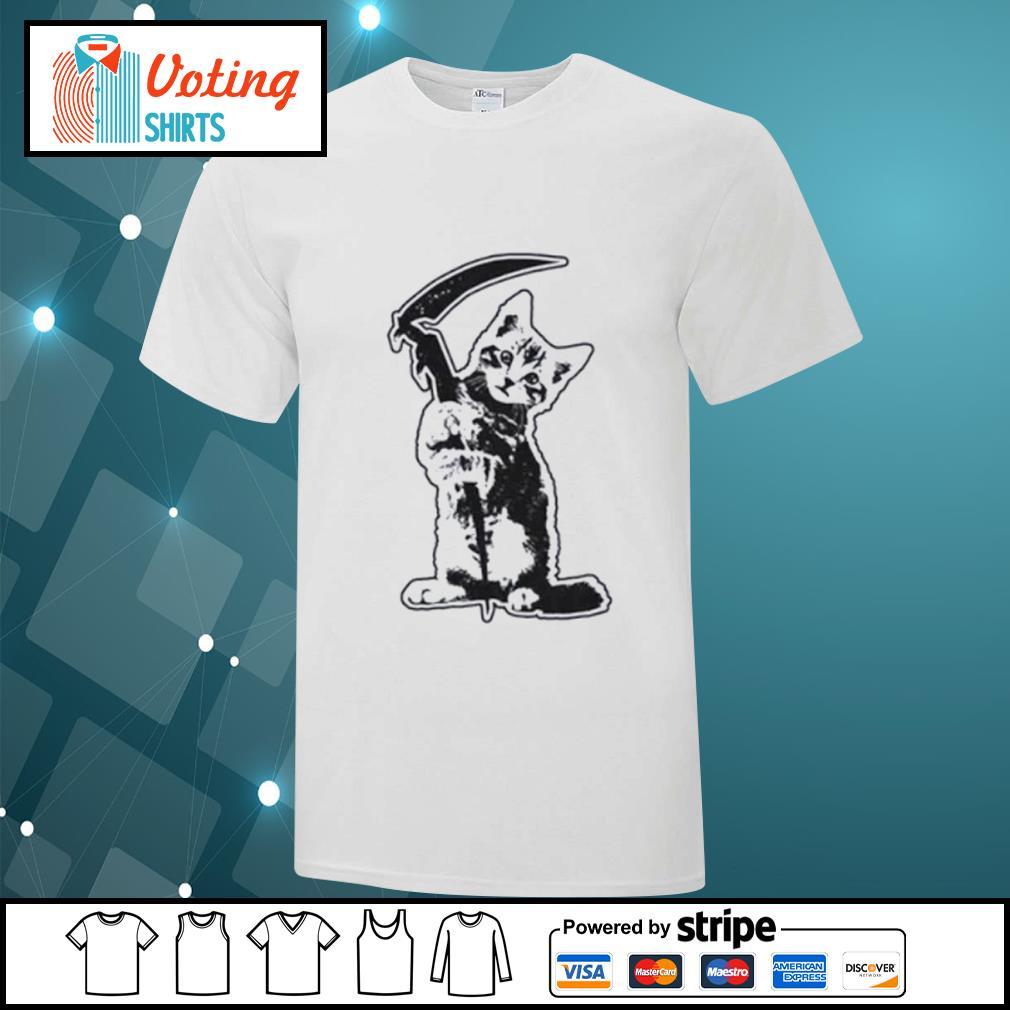 Cat death shirt