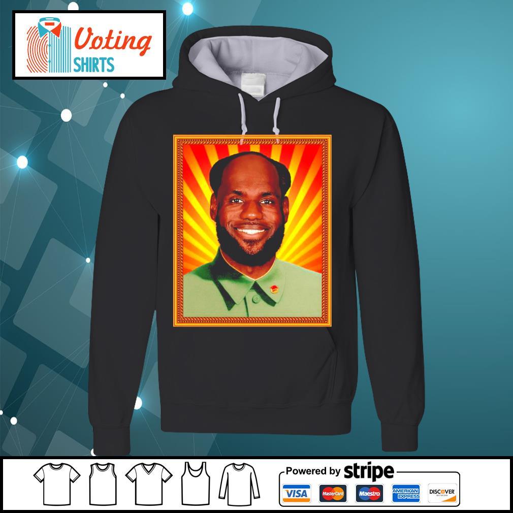 Chairman Mao Lebron s hoodie