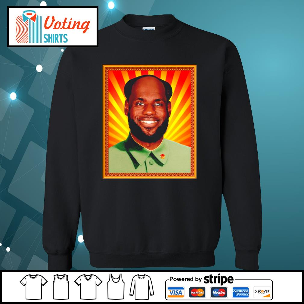Chairman Mao Lebron s sweater