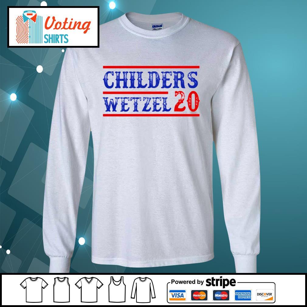 Children's Wetzel 20 s longsleeve-tee
