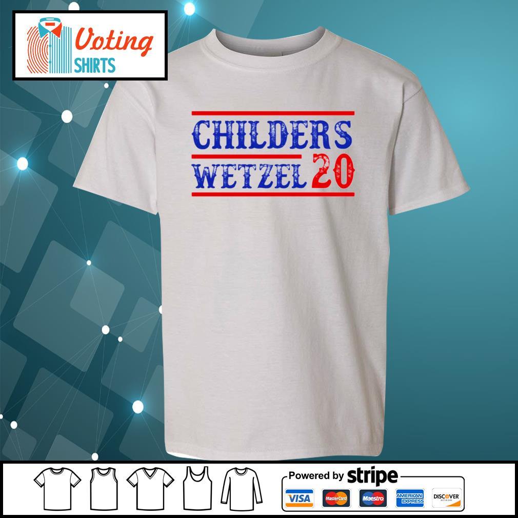 Children's Wetzel 20 s youth-tee