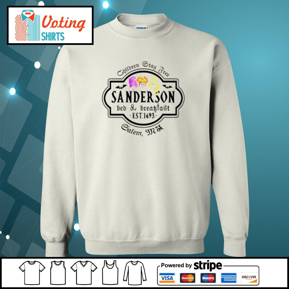 Children stay tree Sanderson bed and breakfast s sweater
