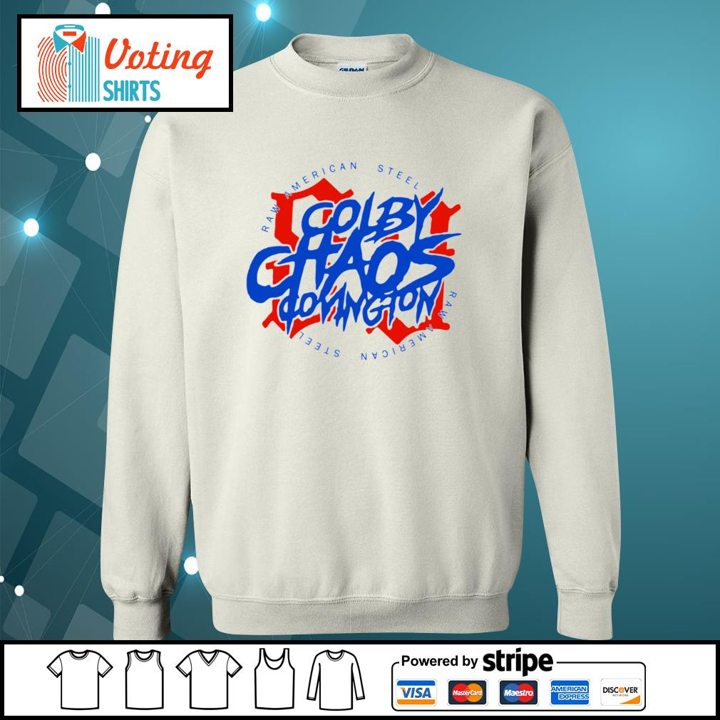 Colby Chaos Covington raw American steel s sweater