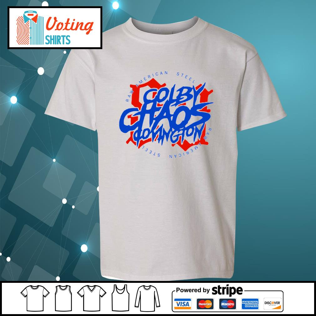 Colby Chaos Covington raw American steel s youth-tee