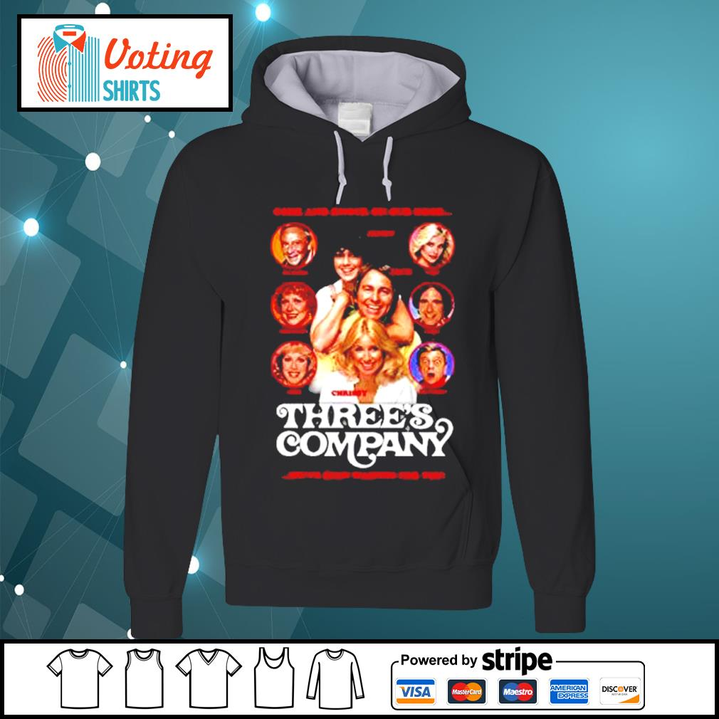 Come and knock on our door Three's Company s hoodie