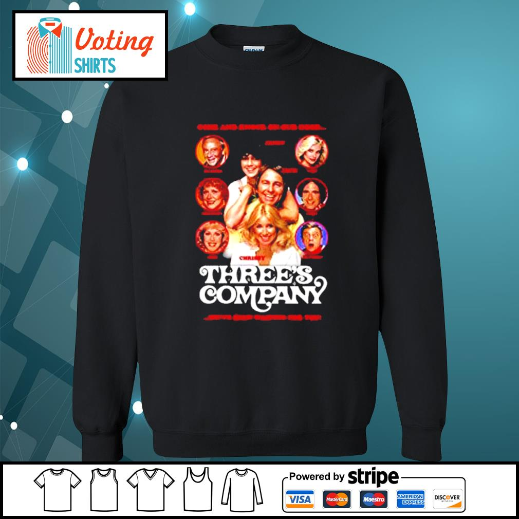 Come and knock on our door Three's Company s sweater