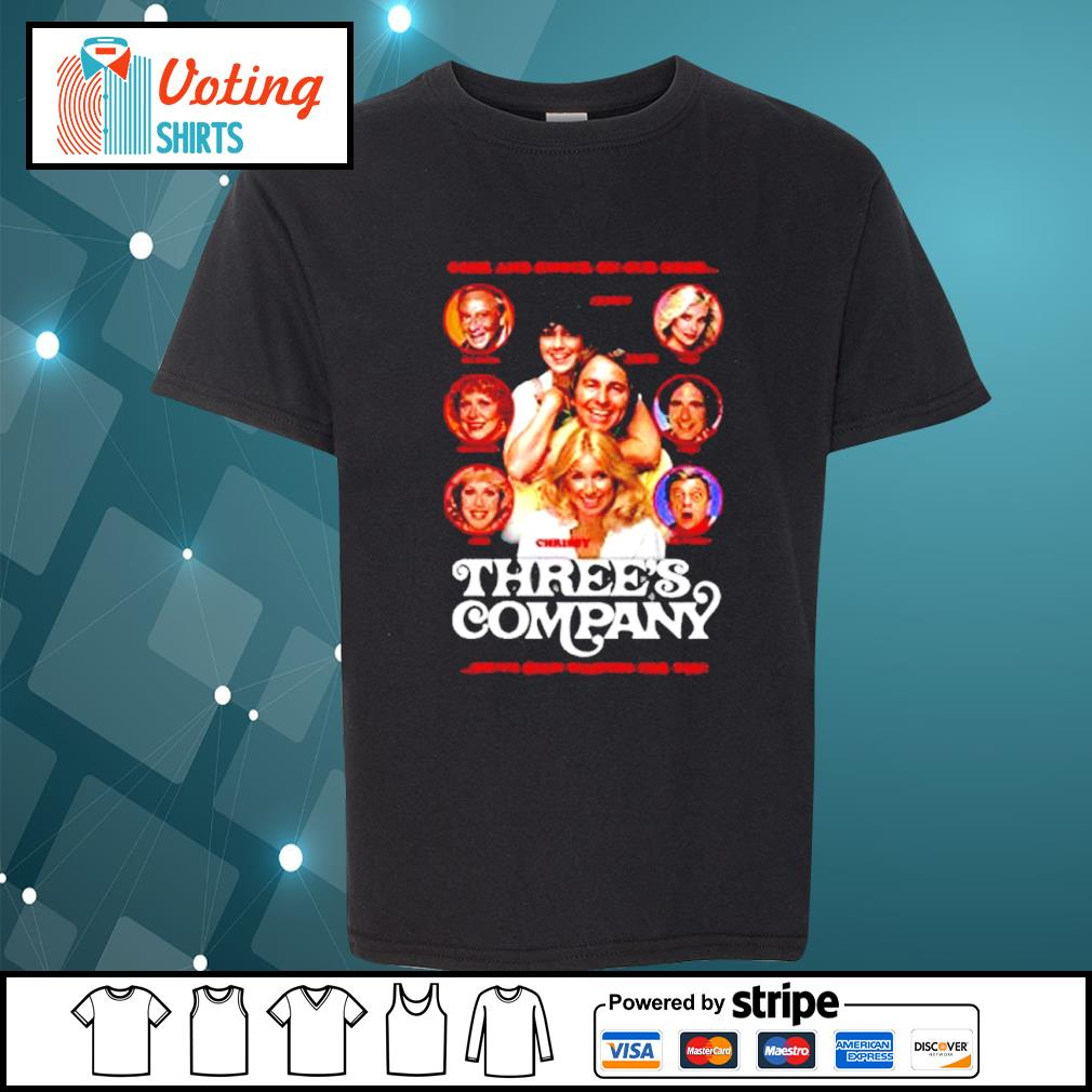 Come and knock on our door Three's Company s youth-tee