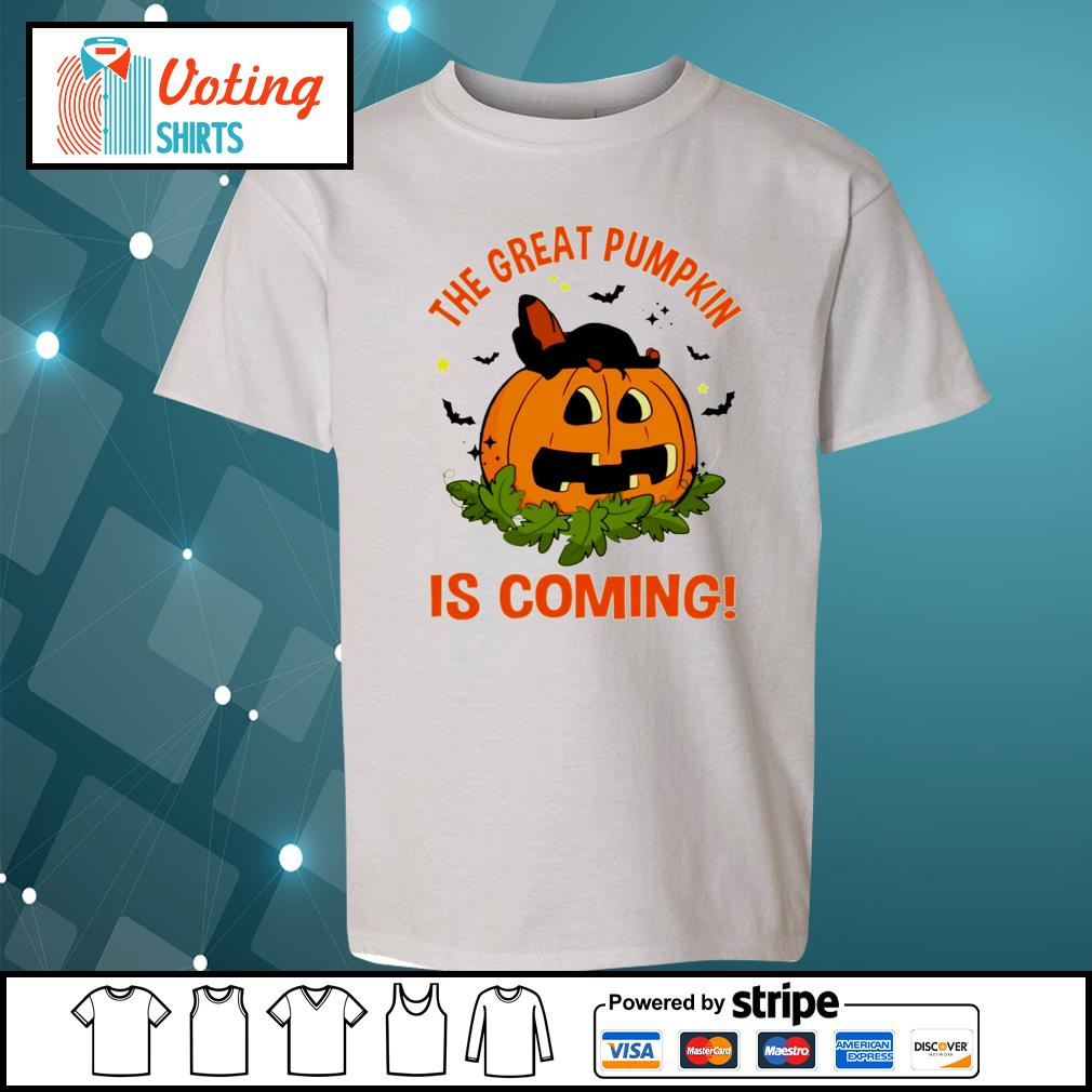 Dachshund the great pumpkin is coming s youth-tee