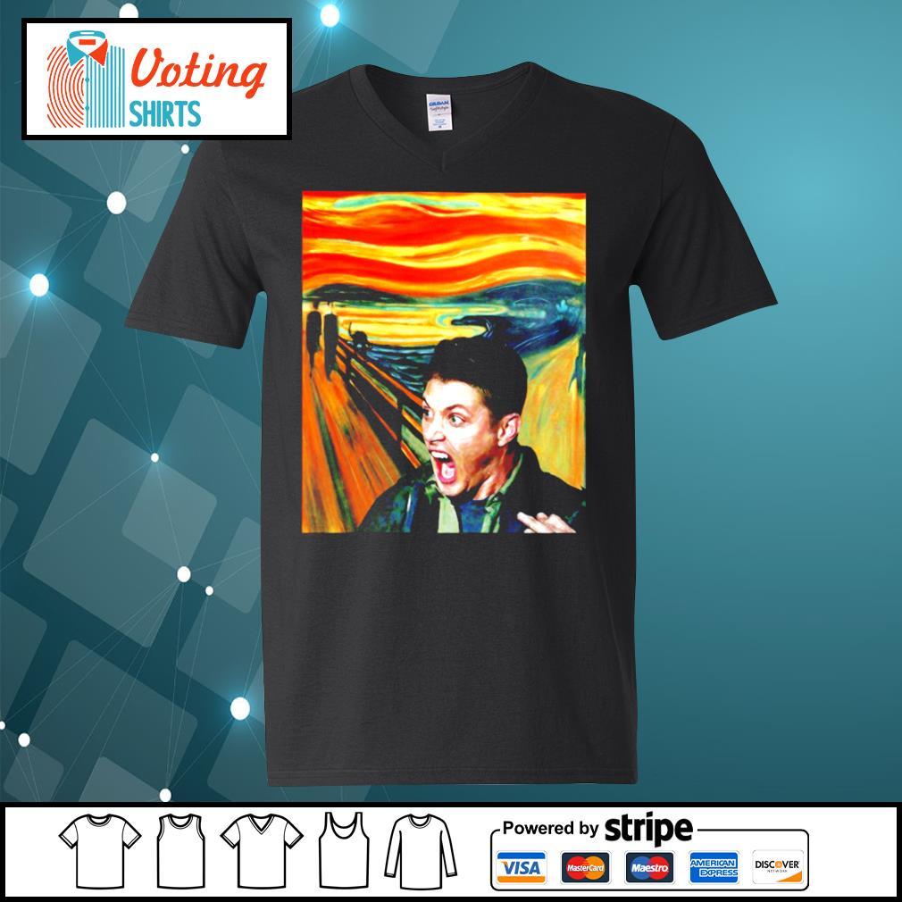 Dean Winchester The Scream s v-neck-t-shirt