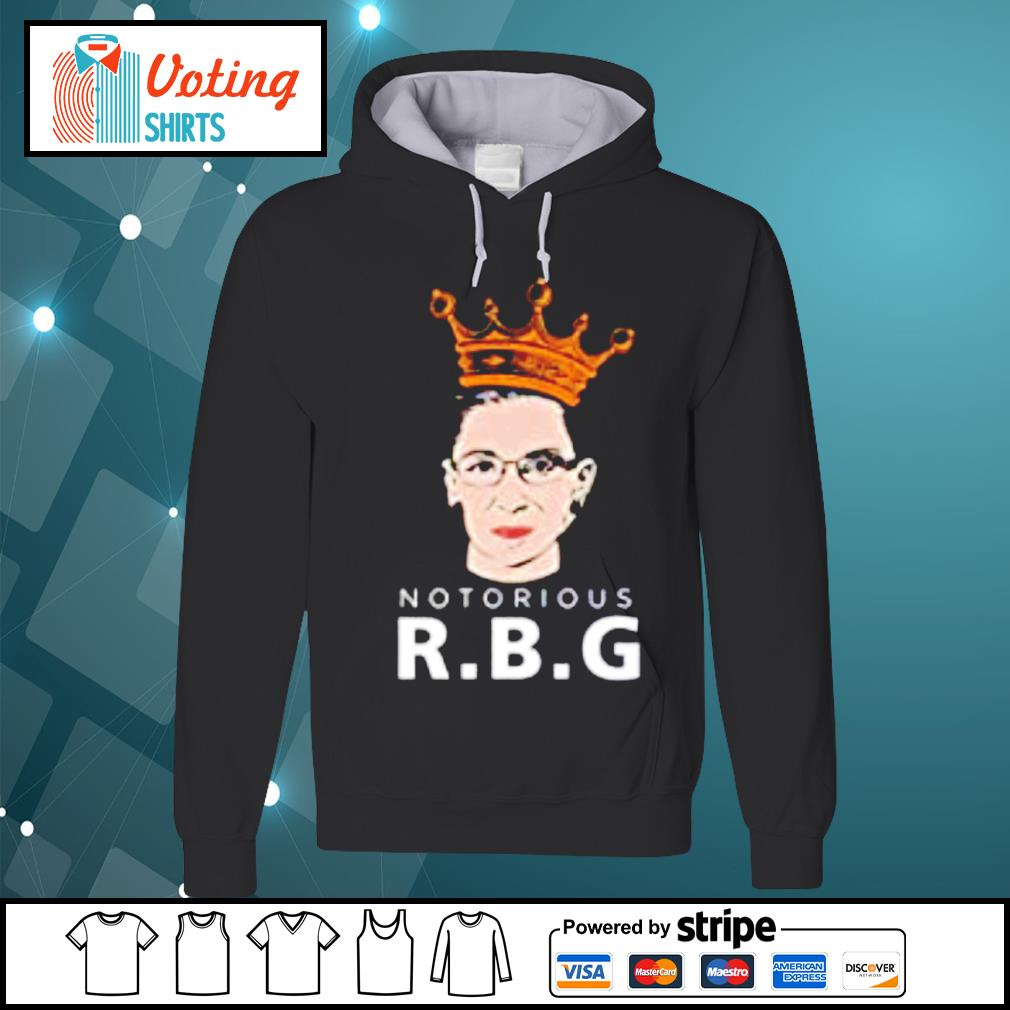 Decrum black Notorious RBG Feminist Ruth Bader Ginsburg s hoodie