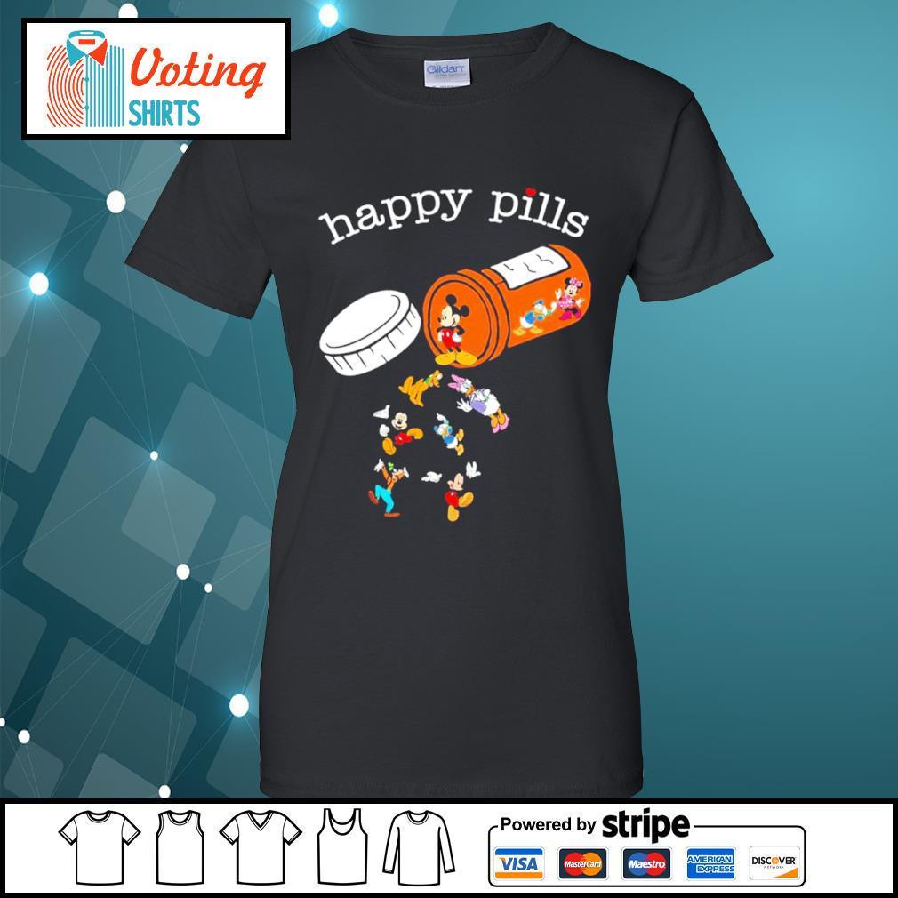 Disney Mickey Mouse happy pills s ladies-tee