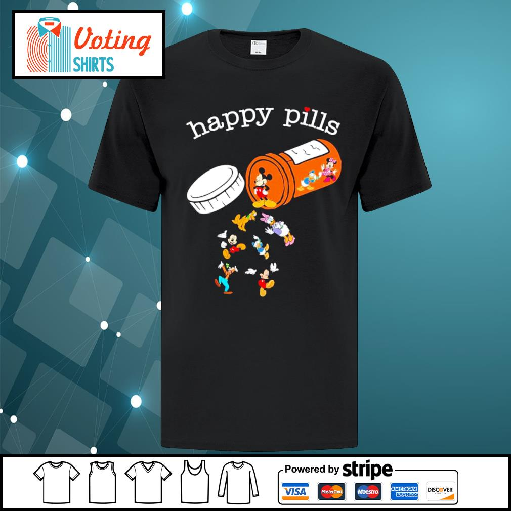 Disney Mickey Mouse happy pills shirt