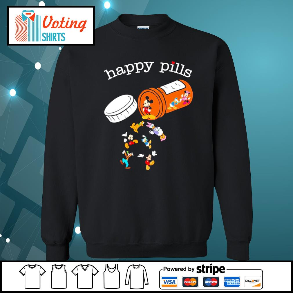 Disney Mickey Mouse happy pills s sweater