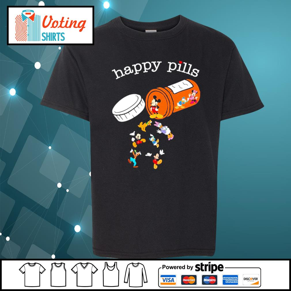 Disney Mickey Mouse happy pills s youth-tee