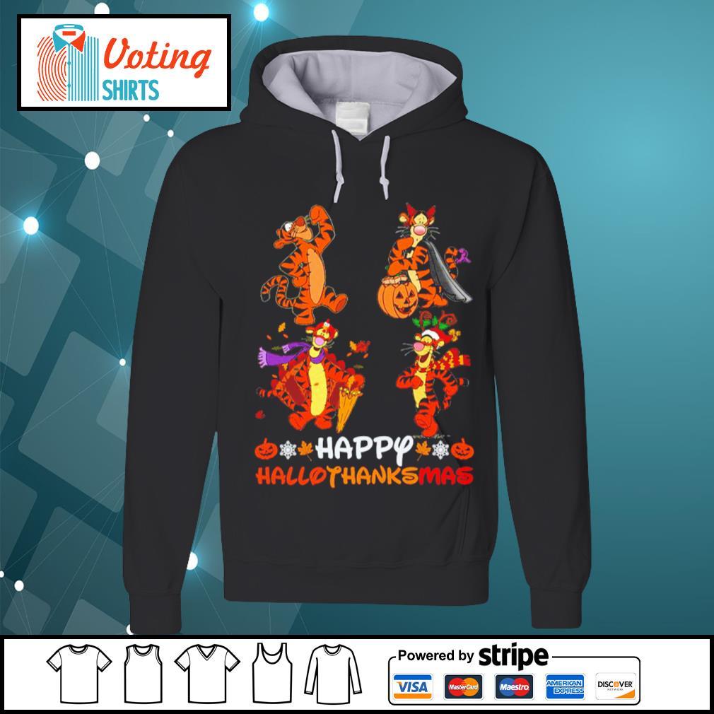 Disney Tigger Happy HalloThanksMas s hoodie