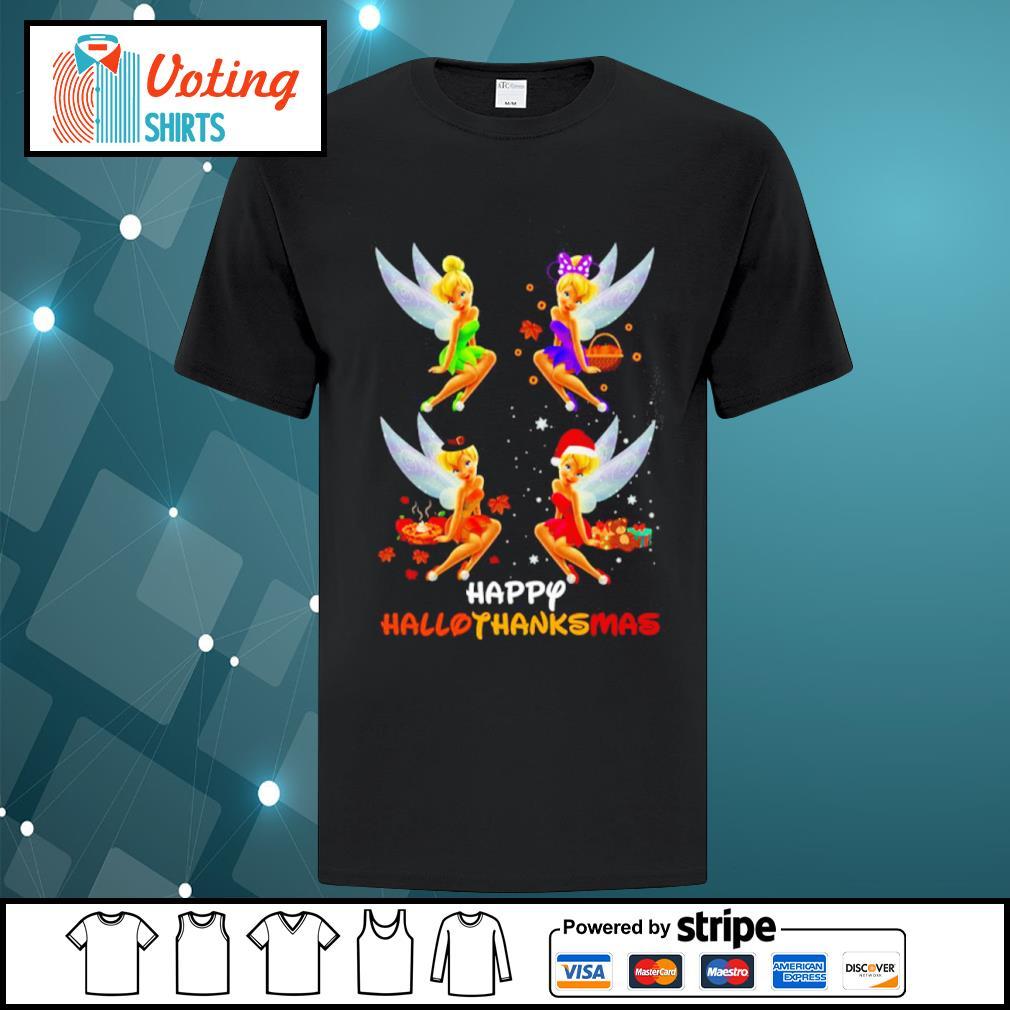 Disney Tinkerbell Happy HalloThanksMas shirt