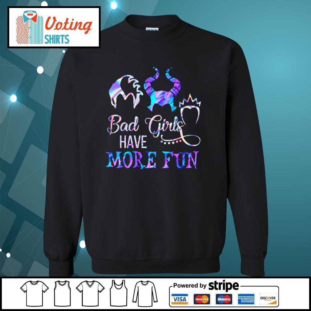 Disney Villains bad girls have more fun s sweater