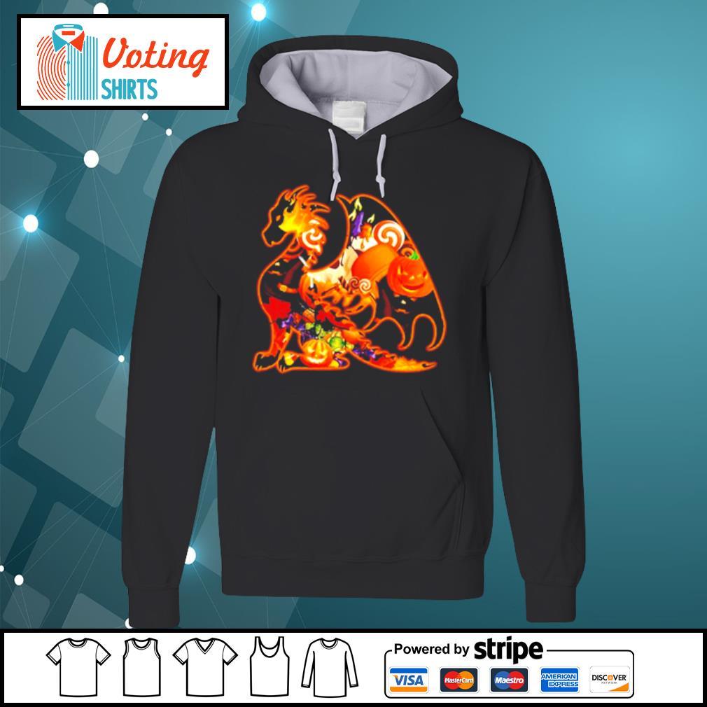 Dragon pumpkin Halloween s hoodie